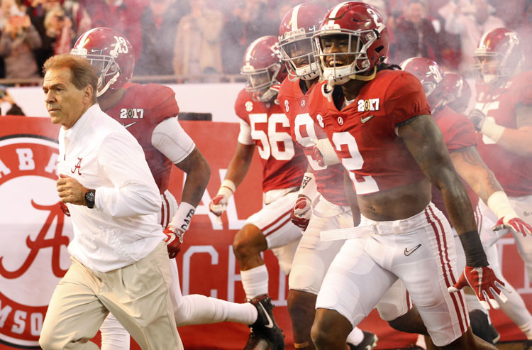 Familiar Faces dominate college football conference title odds